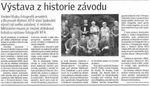 Zlínské noviny o KFA